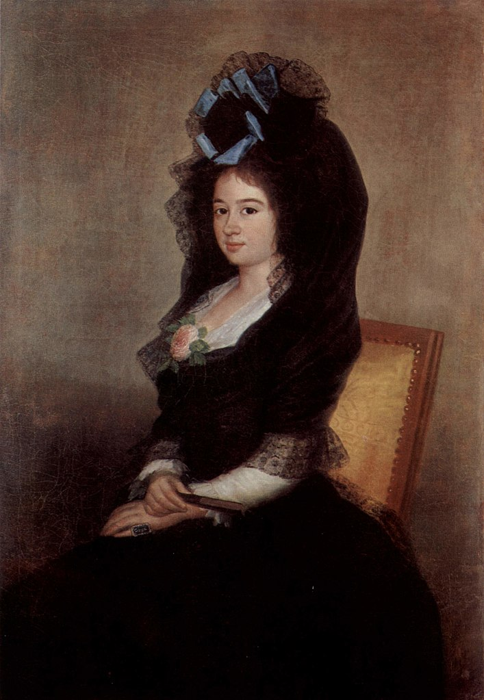 Francisco de Goya. Narcisa Barañana de Goicoechea.Hacia 1810. Metropolitan Museum. Nueva York.
