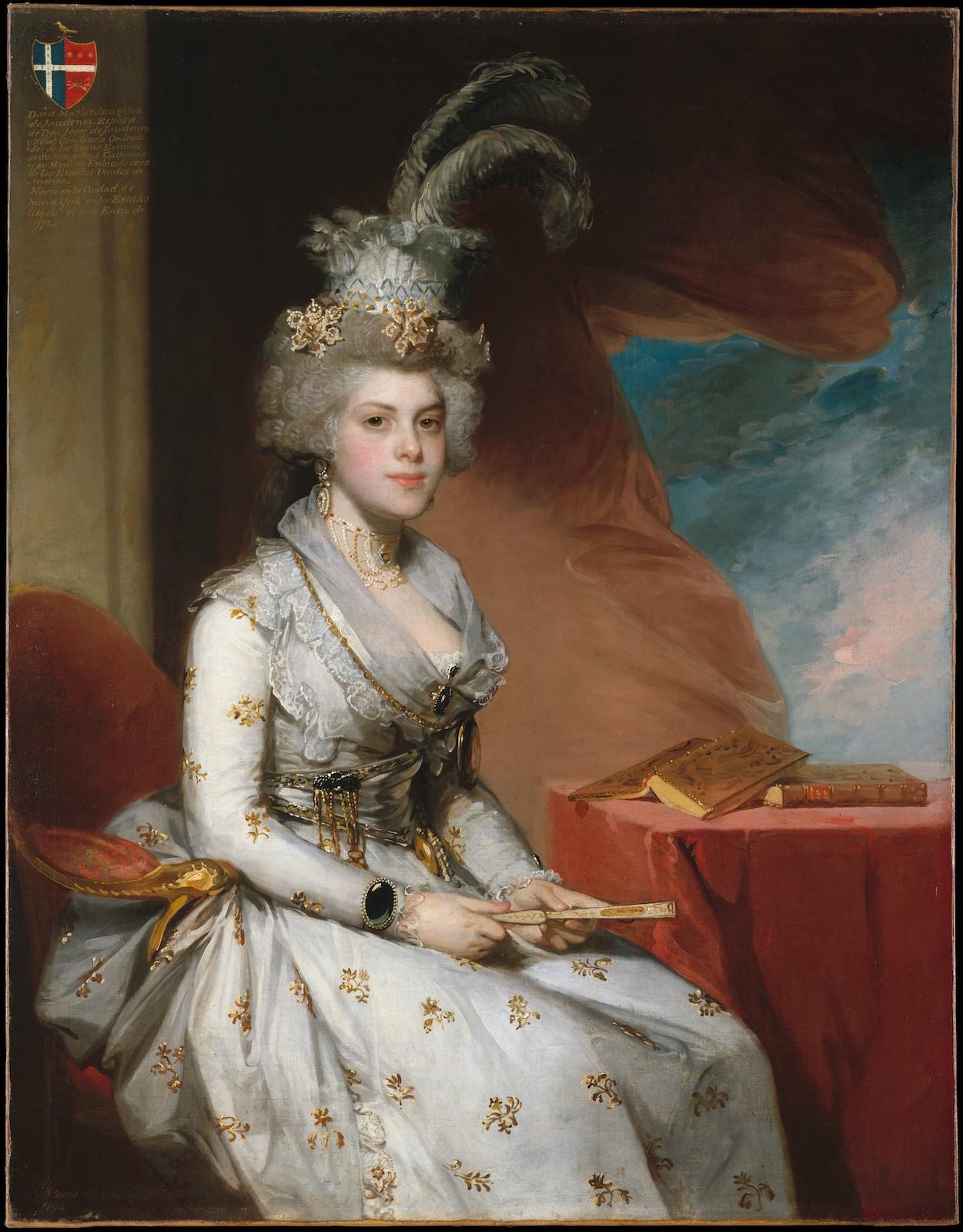 Gilbert Stuart. Matilda Stoughton de Jaudenes.1794. Metropolitan Museum. Nueva York