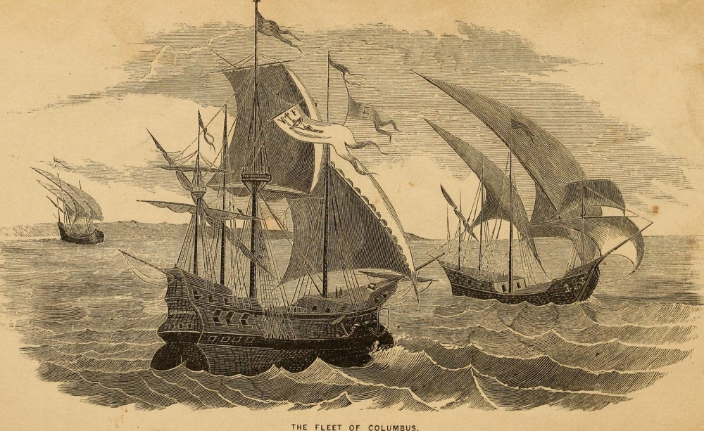 Frank B Goodrich.Man upon the sea or, a history of maritime adventure, exploration, and discovery, from the earliest ages to the present time.1858. Boston Public Library. Boston.